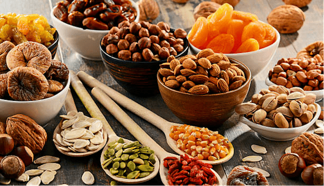 Seeds, Nuts, Grains and Legumes