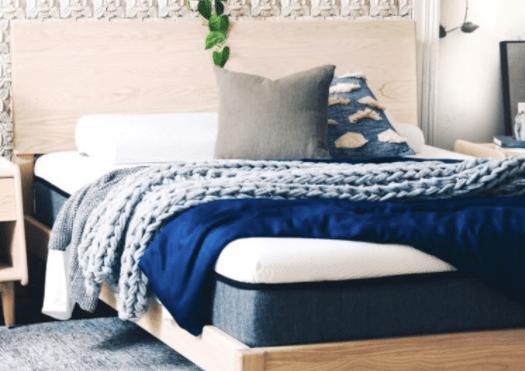 Ecosa Mattress Made On Bed Base