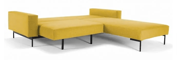 BedWorks' Bragi Chaise Sofa Bed